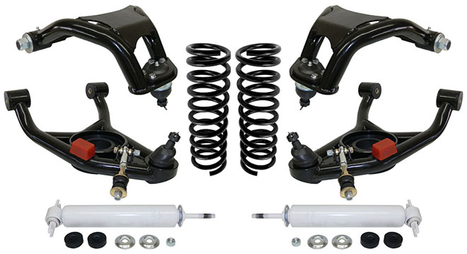 1964-67 Chevelle Stage 3 Suspension Kit with Tubular Control Arms