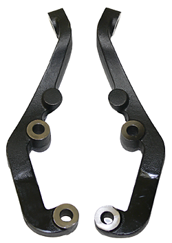 1962-64 Chevy Nova, 5-Lug Steering Arm set