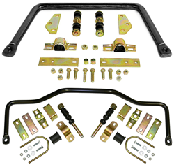 1947-55 Chevy, GMC Truck Performance Anti Sway Bar Kit, Front and Rear