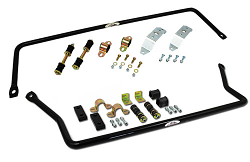 1960-62 Chevy, GMC Truck Sway Bar Kit, High Performance, Front and Rear