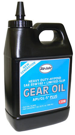 Sta-Lube Heavy Duty Hypoid Gear Oil, Limited Slip (SAE 85W-140)(SL2432)