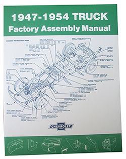 1947-54 Chevy, GMC Truck Factory Assembly Manual