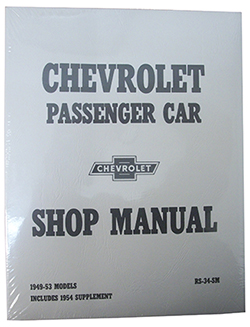 1949-54 Chevy Passenger Car Assembly Manual
