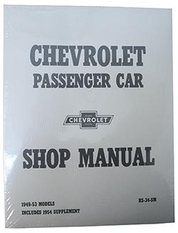 1949-54 Chevy Passenger Car Shop Manual
