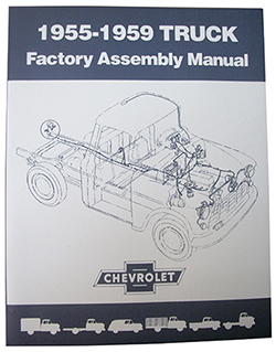 1955-59 Chevy, GMC Truck Factory Assembly Manual