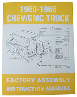 1960-66 Chevy, GMC Truck Factory Assembly Manual