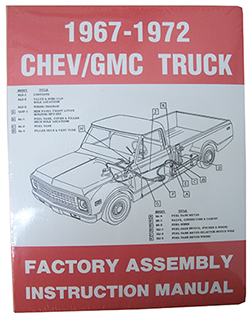 1967-72 Chevy, GMC Truck Factory Assembly Manual
