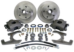 1937-48 Ford Car Front Disc Brake Conversion Kit, 5-Lug
