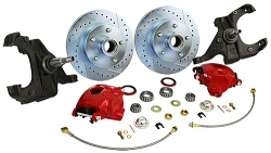 1971-72 Chevy C10, GMC C15 Truck Disc Brake and Drop Spindle Kit