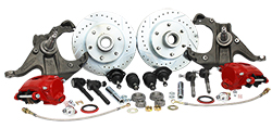 1963-70 Chevy C10, GMC C15 Truck Disc Brake Conversion, Stock or Drop Spindle, Deluxe