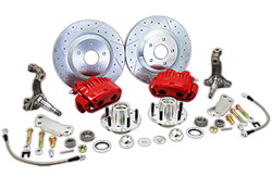 "1964-72 Pontiac GTO Disc Brake Conversion Kit, 13"" Rotors"