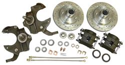 """1968-74 Chevy Nova Disc Brake Conversion Kit, 2"""" Drop Spindles"""