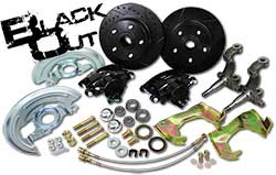 1967-69 Chevy Camaro Black Out Series Disc Brake Conversion