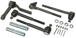 1964-72 Chevy Chevelle Tie Rod and Idler Arm Kit For Tubular Control Arms