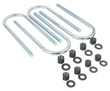 1967-81 Chevy Camaro & Firebird Rear U-Bolt Kit