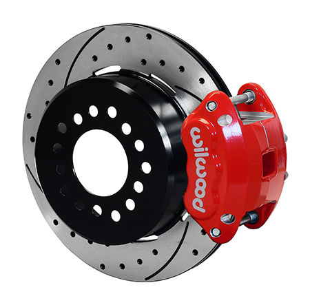 Wilwood - Rear Disc Brake Conversion with Parking Brake, GM 10-12 Bolt, Front Mounted Calipers