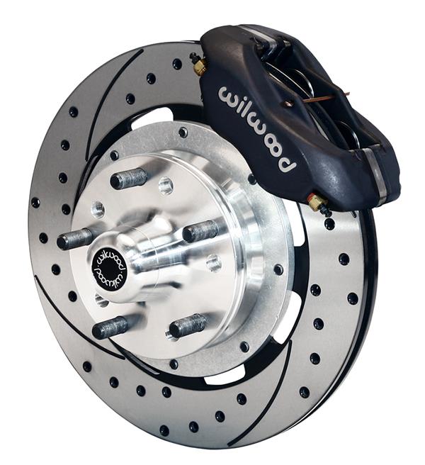 "Wilwood Dynalite Disc Brake Conversion Kit for GM A F X Body, Chevelle, Camaro, Nova, 12.19"" Rotor"