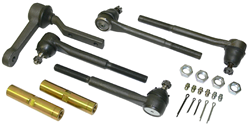 1968-74 Chevy Nova, Pontiac, Buick, High Performance Tie Rod and Idler Arm Kit, For Tubular Control Arms