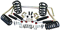 1964-66 GM A Body Stage 2 Suspension Kits, Coil Springs (Front & Rear)