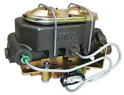 Master Cylinder and Prop Valve Kit, Under Floor Mount, Manual Brakes