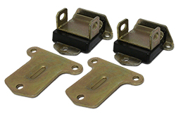 Chevy V-8 Engine Motor Mount, Polyurethane, Pair