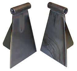 1948-64 Ford F1, F-100 Truck Engine Mount Brackets, Weld In, Chevy V-8