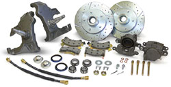 1958-64 Chevy Impala Drop Spindle Disc Brake Conversion