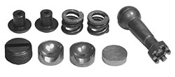 1958-62 Chevy Impala CenterLink Repair Kit for Manual Steering