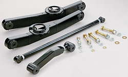 1959-64 Chevy Impala Rear Tubular Control Arm Kit, Single Adjustable Upper