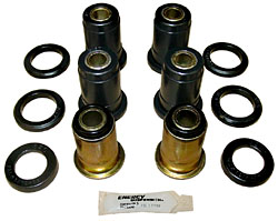 1959-64 Chevy Impala Rear Suspension Control Arm Bushing Kit, OEM RUBBER