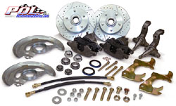 1968-74 Chevy Nova Disc Brake Conversion Kit, OEM Spindles