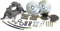 "1964-77 Chevy Chevelle Disc Brake Conversion Kit, 2"" Drop Spindles"