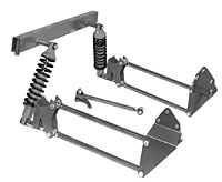 1973-87 Chevy, GMC Truck 4-Link Suspension Kit