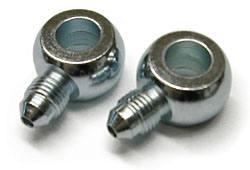 Brake Caliper Banjo Fittings, Pr.