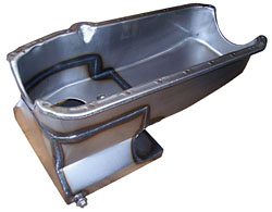 1962-67 Chevy Nova Low Profile 6 QT Oil Pan, Small Block Chevy