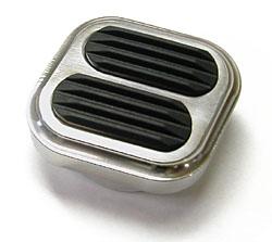 Dimmer Switch Cover, Polished Billet Aluminum