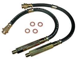 Brake Hose, Rear, 1966-67 Chevy Nova and 66-67 Chevelle