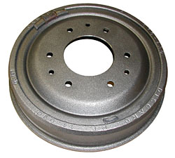 Brake Drum, Front, 1953-58 Chevy Belair, Impala, 53-62 Corvette and 64-65 Chevelle