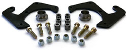 "1948-56 Ford F-1 & F-100, Disc Brake Bracket Kit, 5 x 4.75"" Bolt Pattern"