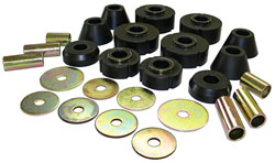 1967-72 Chevy C10, GMC C15 Truck Cab Mount Bushing Kit, Poly Urethane