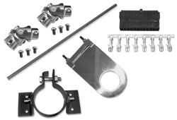 1948-64 Ford F-1 and F-100 Truck Steering Column Install Kit, Power Steering Gear Box or Rack-n-Pinion