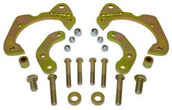 1965-68 Chevy Impala Disc Brake Conversion Brackets, D52 GM Caliper