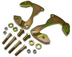 1965-68 Chevy Impala Disc Brake Conversion Brackets, D154 GM Caliper