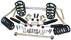 1963-64 Chevy C10 Truck Suspension Kit, Stage 2 with Coil Springs, Stock