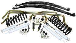 1962-67 Chevy Nova, Suspension Kit, Stage 2 with Coil Springs and Leaf Springs