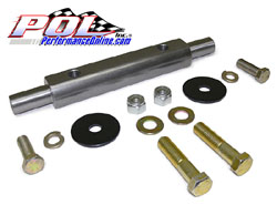 1962-67 Chevy Nova, Upper Control Arm Shaft Assembly, Billet Steel, Ea.