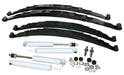 1948-52 Ford F-1 Truck, Suspension Kit, Stage 1, Multi Leaf Springs, Drop