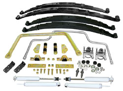 1953-56 Ford F-100 Truck, Stage 2 Suspension Kit, Multi Leaf Springs