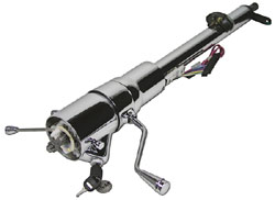 Ididit - 1969-72 Chevy Chevelle, El Camino Tilt Steering Column, With Shifter