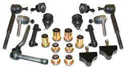 1975-77 Chevy Chevelle Front Suspension Rebuild Kit, Deluxe Type